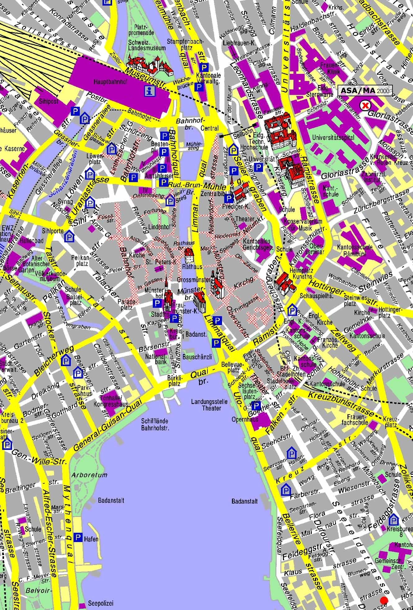 Impressum – Basel Tourist Map